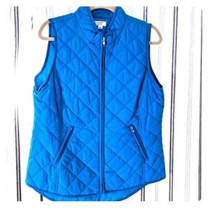 Crown & Ivy quilted vest
